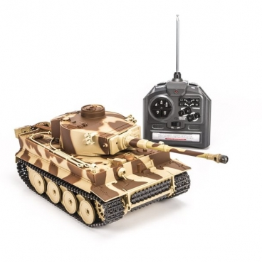 Танк Huan Qi Airsoft German Tiger 1:28