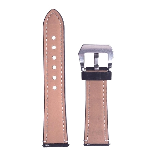 GSMIN Кожаный ремешок Strict Collection для Samsung Gear S3 Frontier/Classic/Galaxy Watch (46 mm)