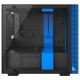 Компьютерный корпус NZXT H200 Black/blue