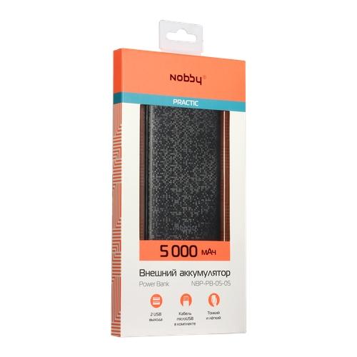 Аккумулятор Nobby Pixel NBP-PB-05 5000 мАч