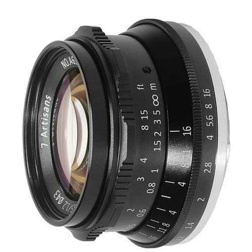 Объектив 7artisans 35mm f/1.2 Canon M