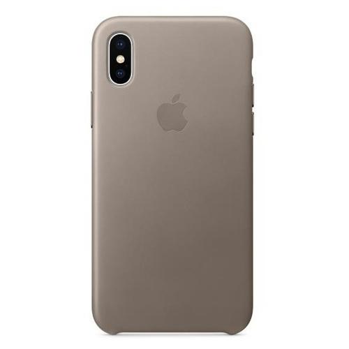 Чехол Apple кожаный для Apple iPhone X