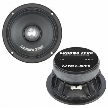 Автомобильная акустика Ground Zero GZCM 6-4PPX