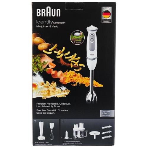 Погружной блендер Braun MQ 5077 Buffet +