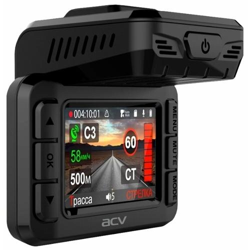 Видеорегистратор с радар-детектором ACV GX8000, GPS