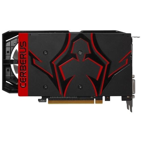 Видеокарта ASUS GeForce GTX 1050 Ti 1341MHz PCI-E 3.0 4096MB 7008MHz 128 bit DVI HDMI HDCP CERBERUS