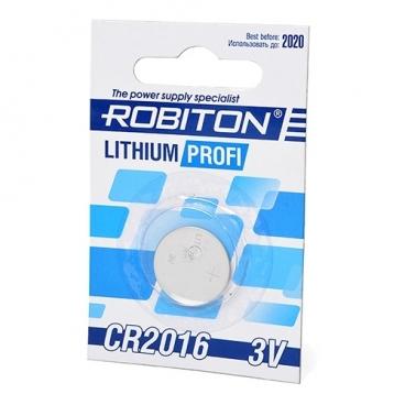 Батарейка ROBITON Lithium Profi CR2016