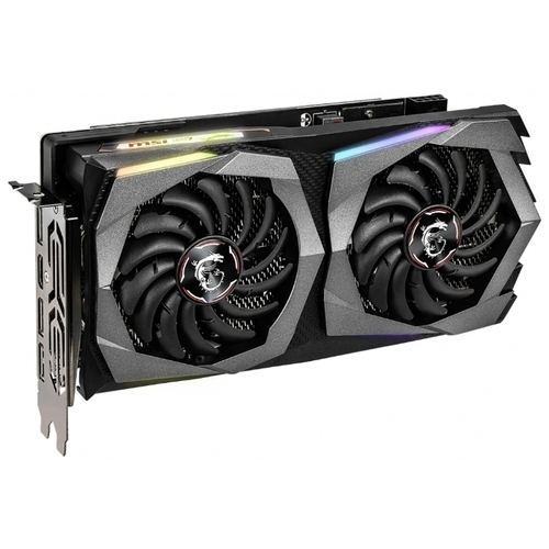 Видеокарта MSI GeForce RTX 2060 1680MHz PCI-E 3.0 6144MB 14000MHz 192 bit 3xDisplayPort HDMI HDCP GAMING