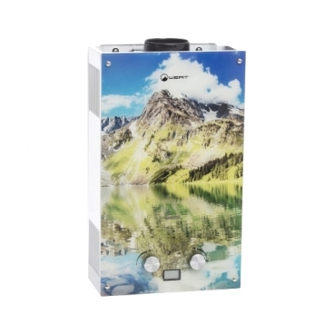 Проточный газовый водонагреватель Wert 10EG Mountains