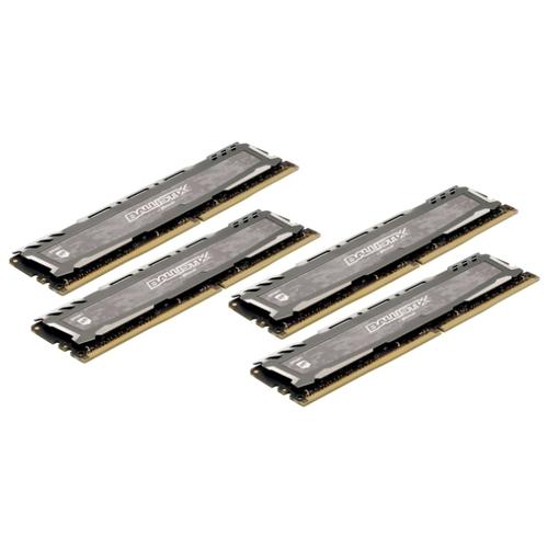 Оперативная память 8 ГБ 4 шт. Ballistix BLS4K8G4D26BFSBK