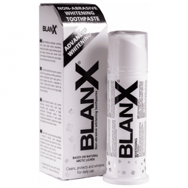 Зубная паста BlanX Advanced Whitening, отбеливающая
