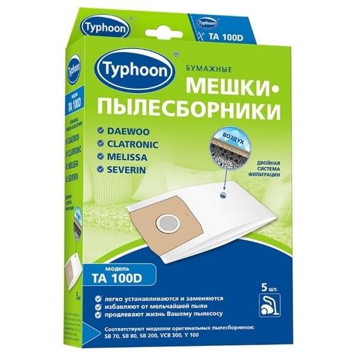 Тайфун Бумажные мешки-пылесборники TA 100D
