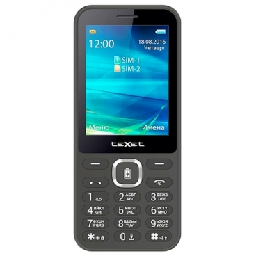 Телефон teXet TM-D327
