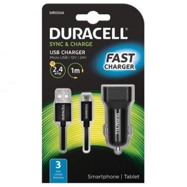 Автомобильная зарядка Duracell DR5032