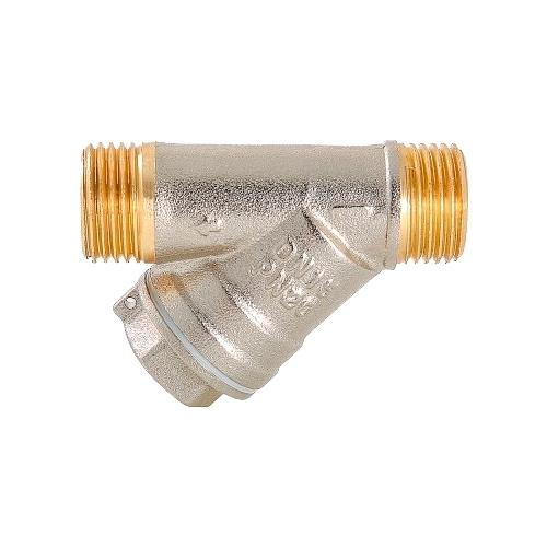 Фильтр механической очистки VALTEC VT.190 муфтовый (НР/НР), латунь