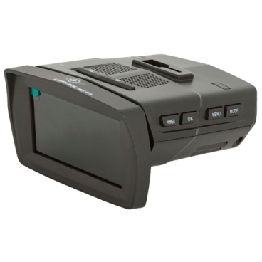 Видеорегистратор с радар-детектором Stonelock MERU, 2 камеры, GPS