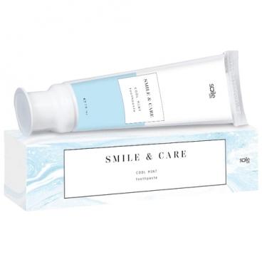 Зубная паста Smile Care Cool mint освежающая мята