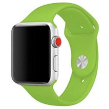 Karmaso Ремешок для Apple Watch 38 mm спортивный ярко-зеленый
