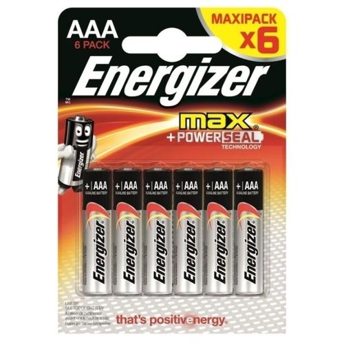 Батарейка Energizer Max+Power Seal AAA/LR03