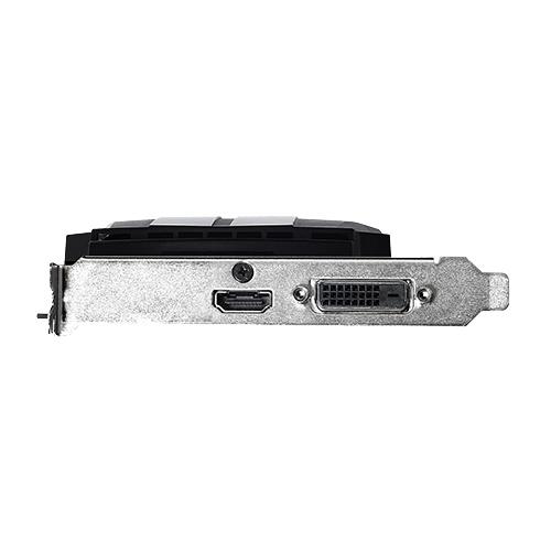 Видеокарта ASUS GeForce GT 1030 1252Mhz PCI-E 3.0 2048Mb 6008Mhz 64 bit DVI HDMI HDCP Phoenix OC