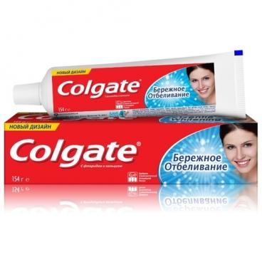 Зубная паста Colgate Бережное отбеливание
