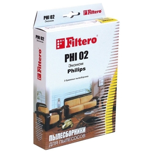 Filtero Мешки-пылесборники PHI 02 Эконом
