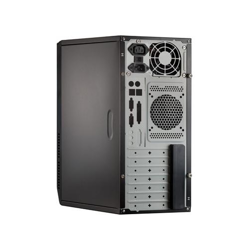 Компьютерный корпус ExeGate CP-501 400W Black
