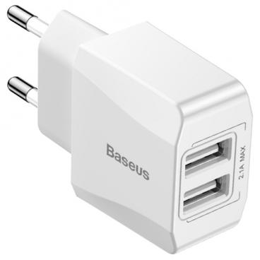 Сетевая зарядка Baseus Mini Dual-U Charger