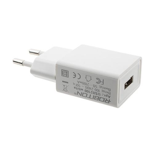Сетевая зарядка ROBITON USB2100