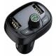 Автомобильная зарядка Baseus T typed Bluetooth MP3 charger with car holder