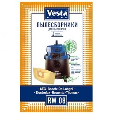 Vesta filter Бумажные пылесборники RW 08