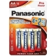 Батарейка Panasonic Pro Power AA/LR6