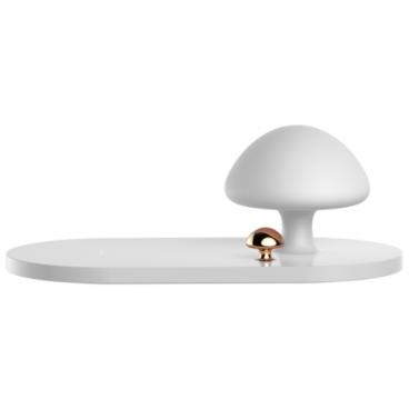 Беспроводная сетевая зарядка Baseus Mushroom Lamp Desktop Wireless Charger