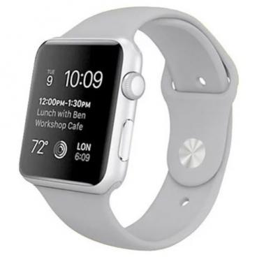 Karmaso Ремешок для Apple Watch 42 мм спортивный серый
