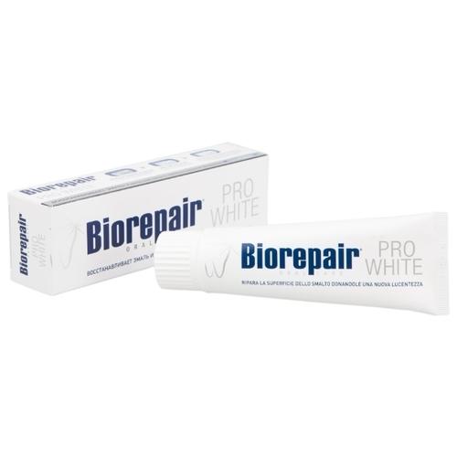 Зубная паста Biorepair Pro White, сохраняющая белизну эмали