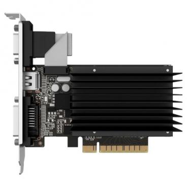 Видеокарта Palit GeForce GT 710 954Mhz PCI-E 2.0 1024Mb 1600Mhz 64 bit DVI HDMI HDCP Silent