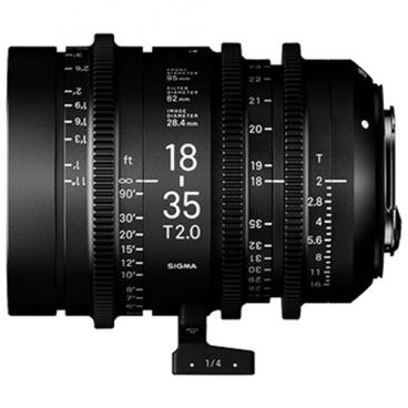 Объектив Sigma 18-35mm T2 Canon EF