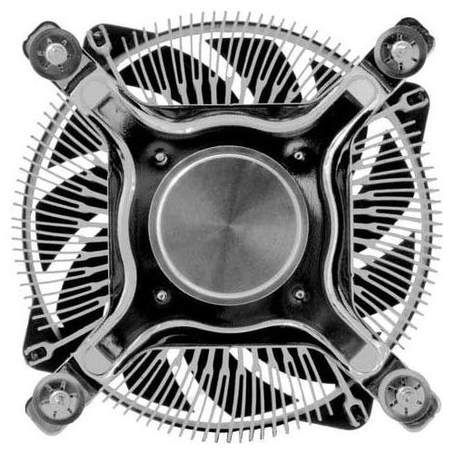 Кулер для процессора Titan DC-155A915Z/RPW