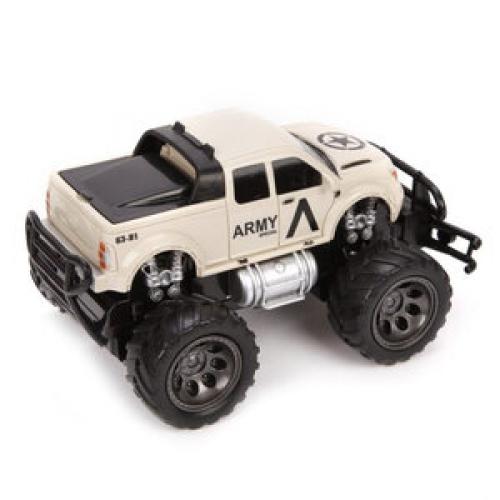 Машинка Наша игрушка Джип военный 1:24