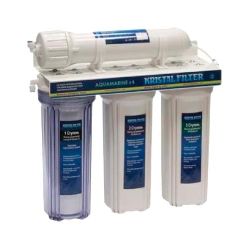 Фильтр под мойкой Kristal Aquamarine x4 четырехступенчатый