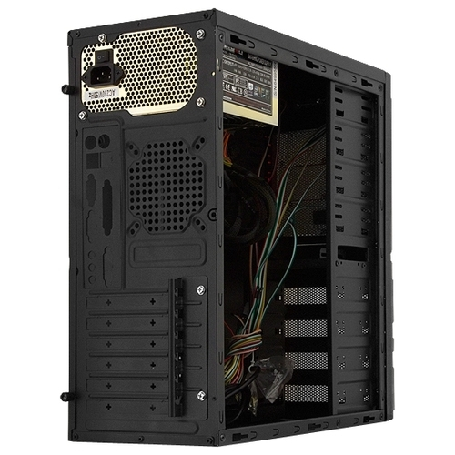 Компьютерный корпус CROWN MICRO CMC-SM161 450W Black/orange