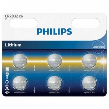 Батарейка Philips Lithium CR2032