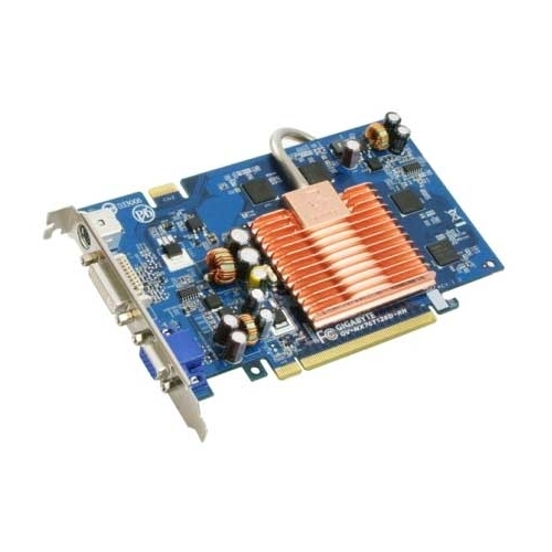 Видеокарта GIGABYTE GeForce 7600 GT 560Mhz PCI-E 128Mb 1400Mhz 128 bit DVI TV YPrPb