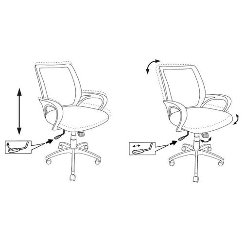 Компьютерное кресло Бюрократ CH-695 офисное