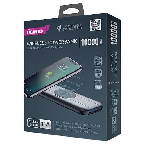 Аккумулятор OLMIO QW-10 10000 mAh