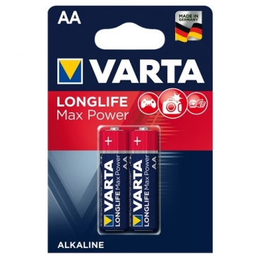 Батарейка VARTA LONGLIFE Max Power AA