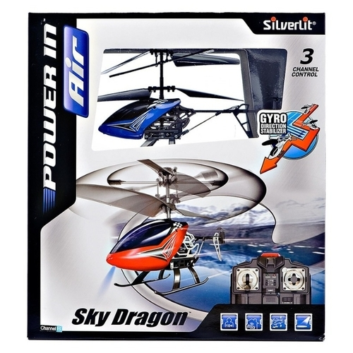 Вертолет Silverlit Power in Air Sky Dragon (84512) 19 см