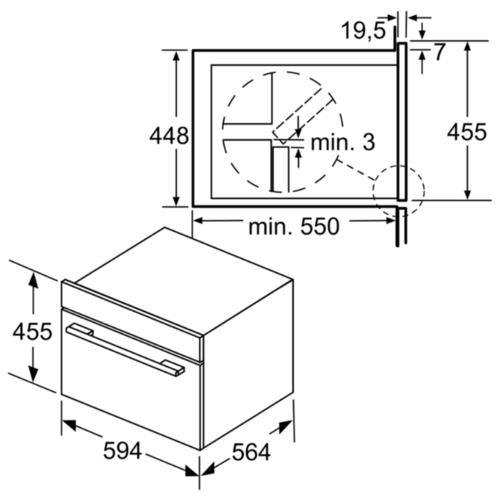 Микроволновая печь встраиваемая Bosch CPA565GS0