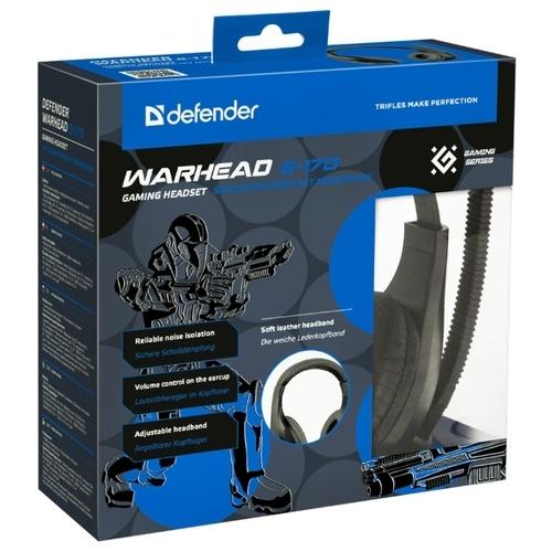 Компьютерная гарнитура Defender Warhead G-170