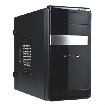 Компьютерный корпус IN WIN EMR034U3 450W Black/silver